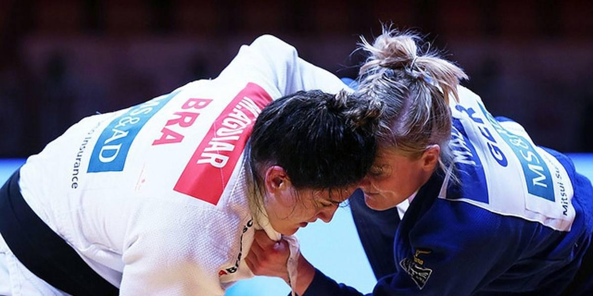 Mayra Aguiar perde na final e fica com a prata no Grand Slam de judô