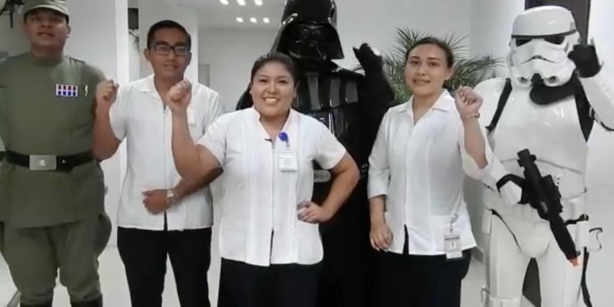 Secretaría de Salud de Campeche promociona campaña de VIH con personajes de Star Wars