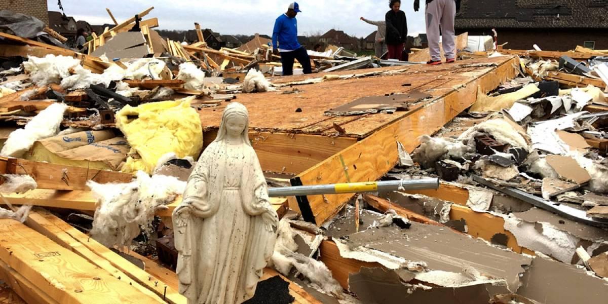 Sistema de tormentas deja 5 muertos en EE. UU.