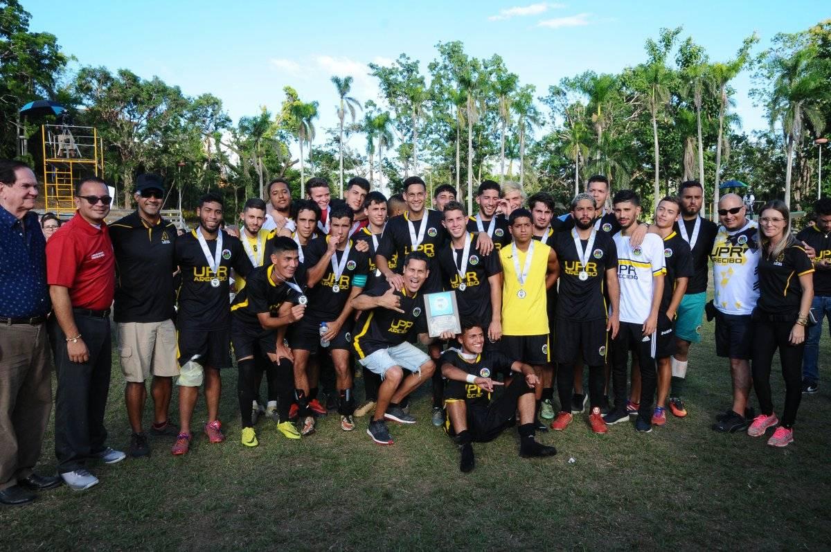 Arecibo - subcampeones LAI fútbol 2018