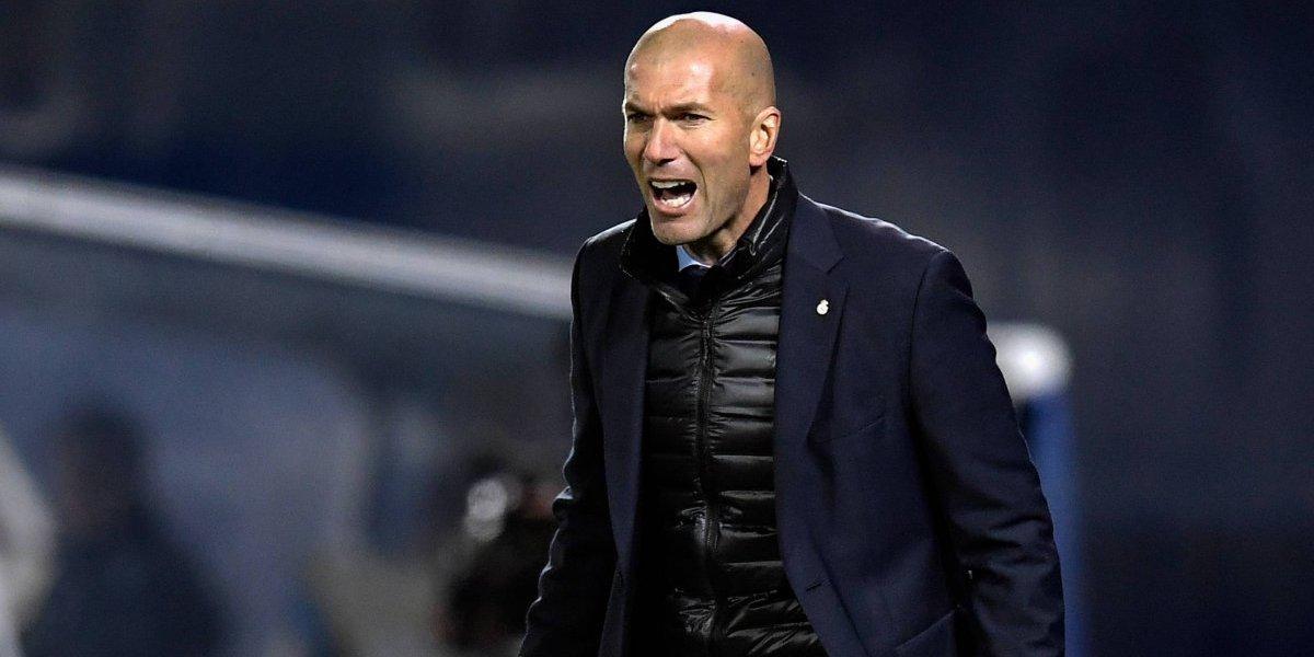 Zidane sale a hablar por la lesión de Neymar