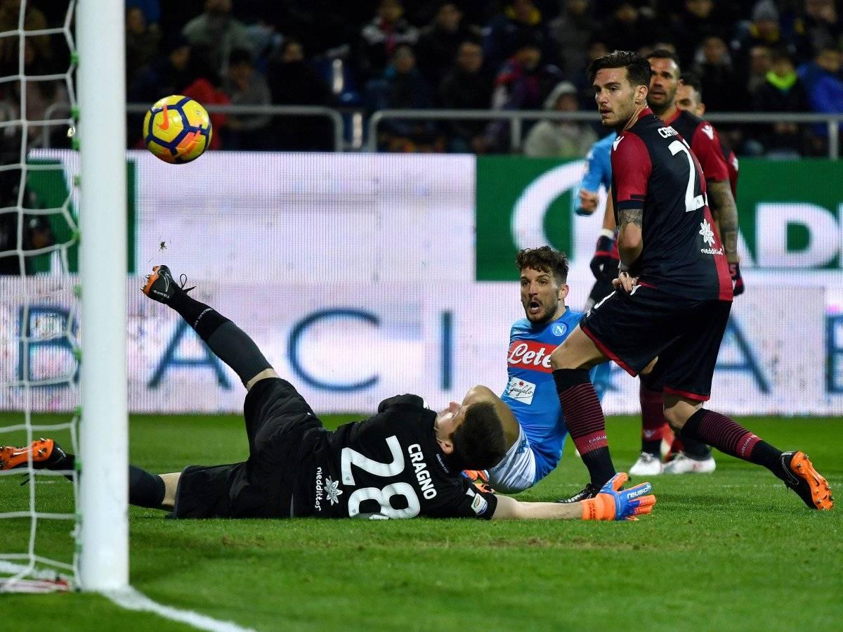 El Nápoles no tuvo piedad con su rival.