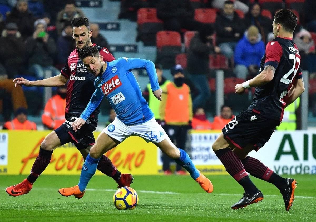 Nápoles quiere el título de la Serie A.
