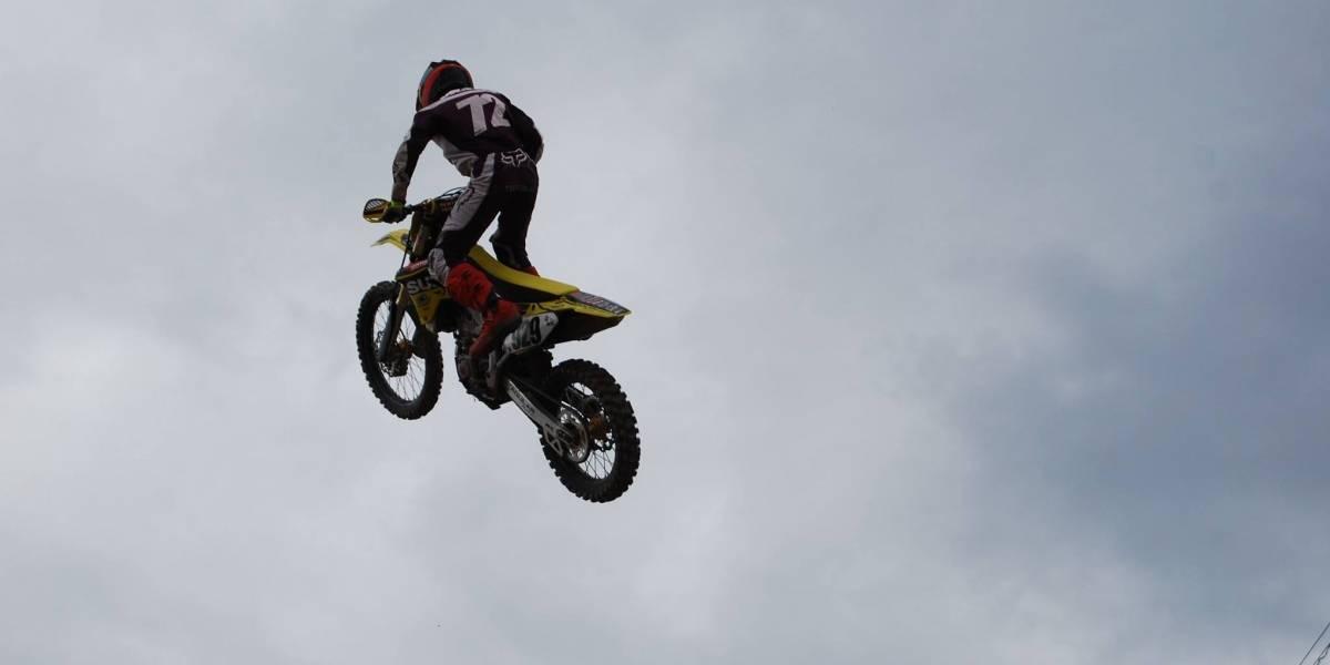"El motocross guatemalteco llora la partida ""Vicko"""