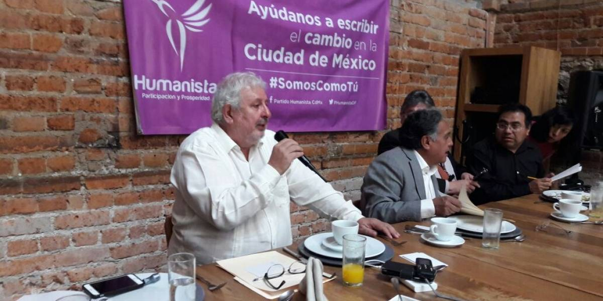 Perfilan a 'Súper Barrio' como candidato del Partido Humanista en CDMX