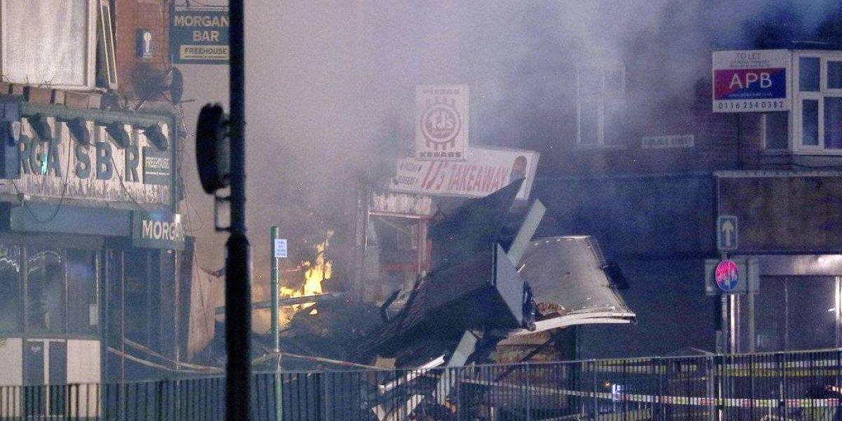 Cuatro muertos tras explosión en Inglaterra