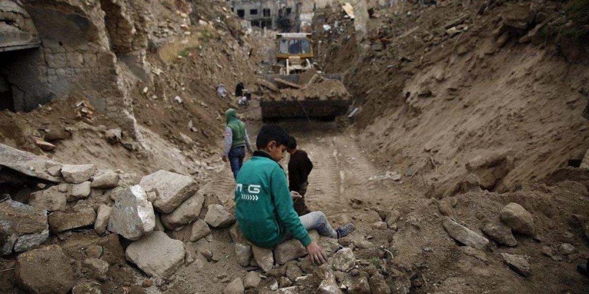 Siria inicia reconstrucción en medio de la violencia