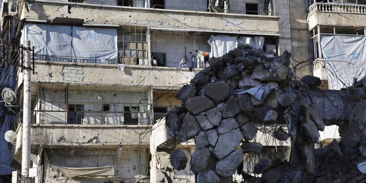UE pide un 'inmediato' alto al fuego humanitario en Siria