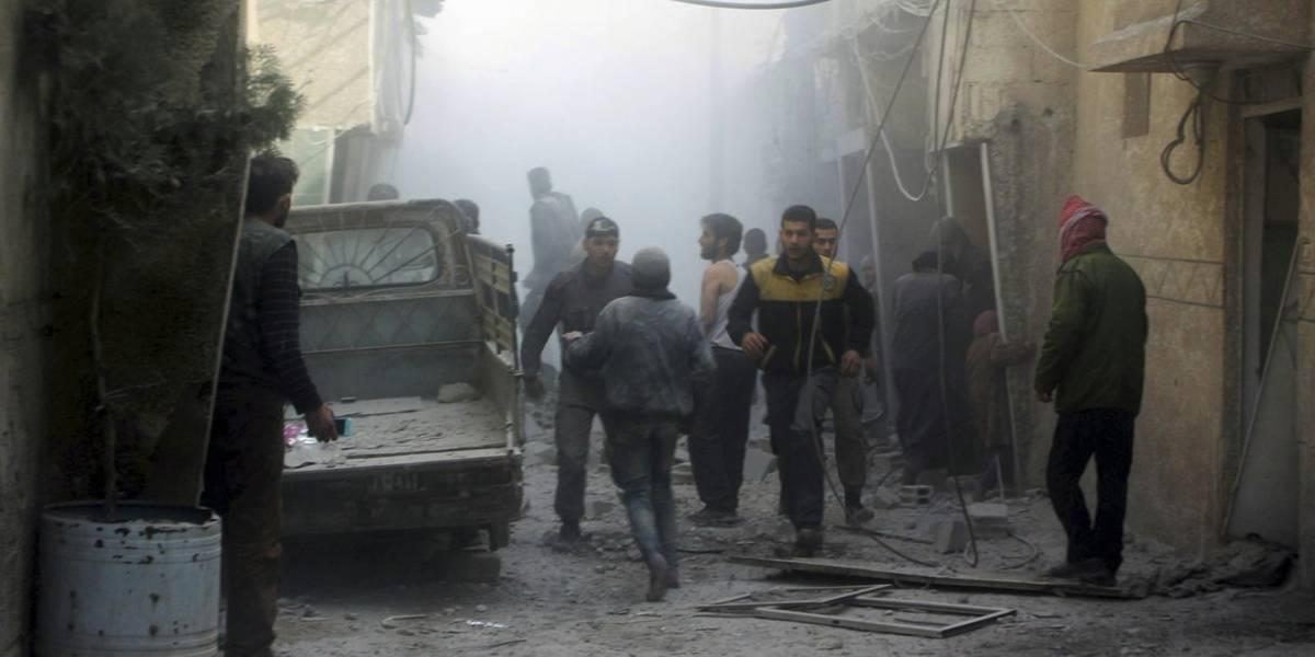 Oídos sordos a la paz: médicos denuncian ataque con gas cloro en Siria mientras continúan los bombardeos