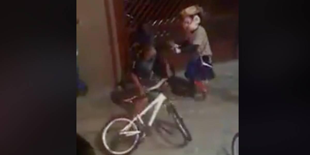 Carretas Furacão e Tsunami da Alegria brigam durante festa infantil em Ribeirão Preto