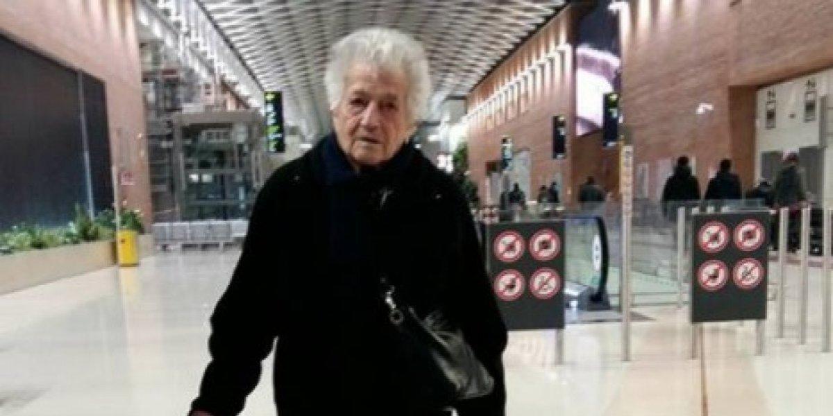 Un ejemplo para todo el mundo: abuelita de 93 años abandona todo para ir de voluntaria a un orfanato a África