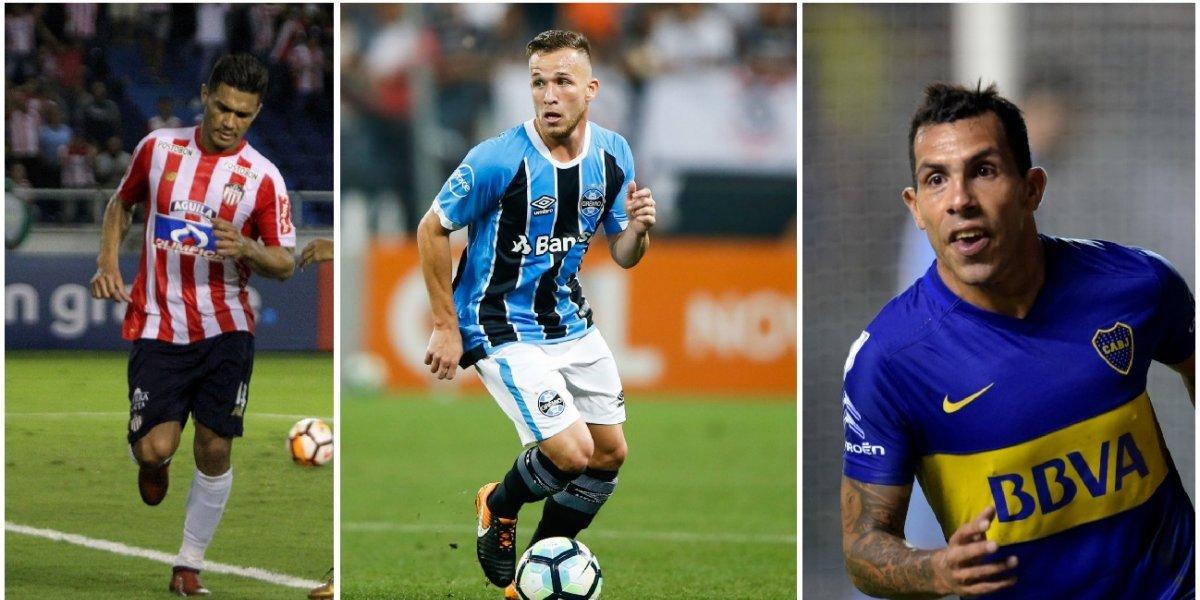 Diez grandes figuras que le darán brillo a la Copa Libertadores 2018