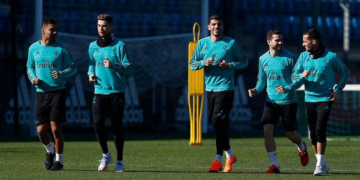 El Real Madrid quiere mantener su buena racha