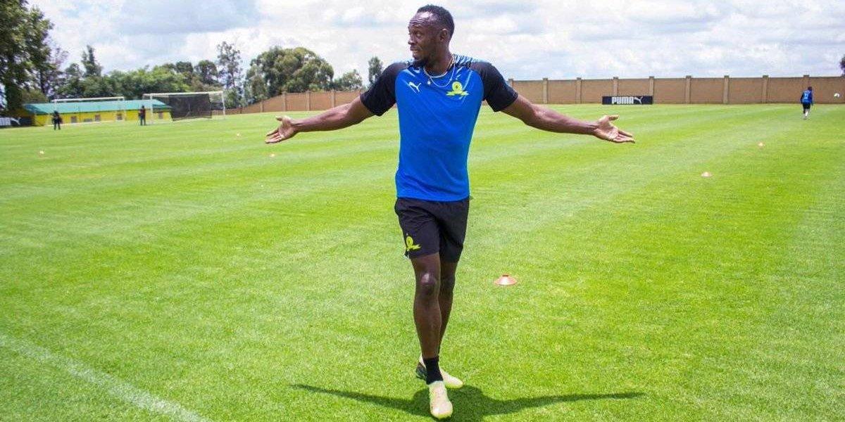 Usain Bolt iniciará carrera de futbolista con el Mamelodi Sundowns de Sudáfrica