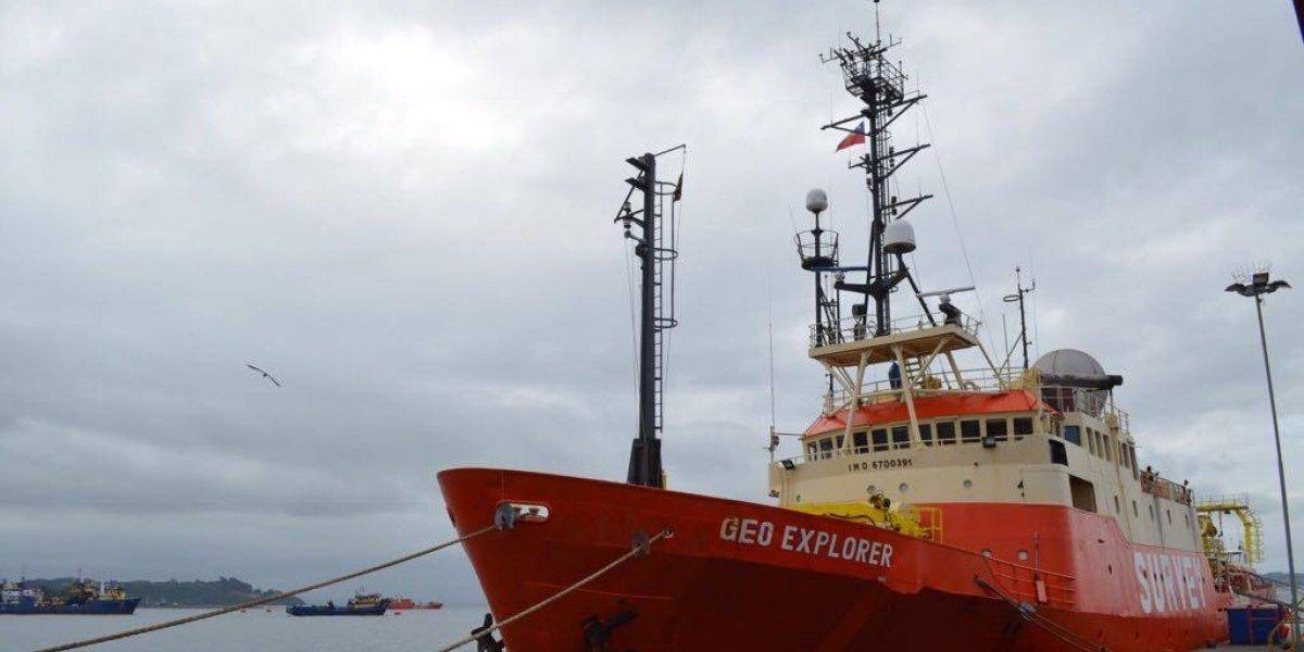 Para una mejor interconectividad: Investigan aguas profundas para Proyecto Fibra Óptica Austral
