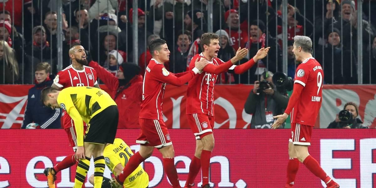 James en el Bayern y Lewandowski al Madrid: el negocio que propone Florentino