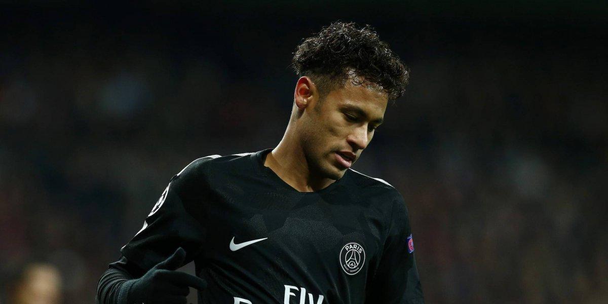 Neymar muestra lesión de tobillo y Zidane lo apoya