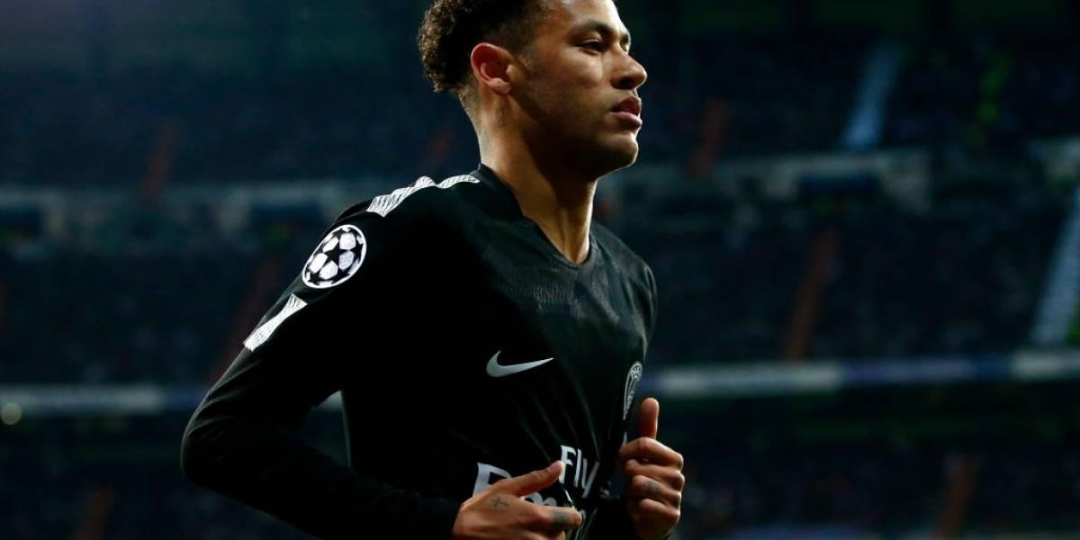 El tobillo de Neymar amenaza con acabar la temporada del PSG