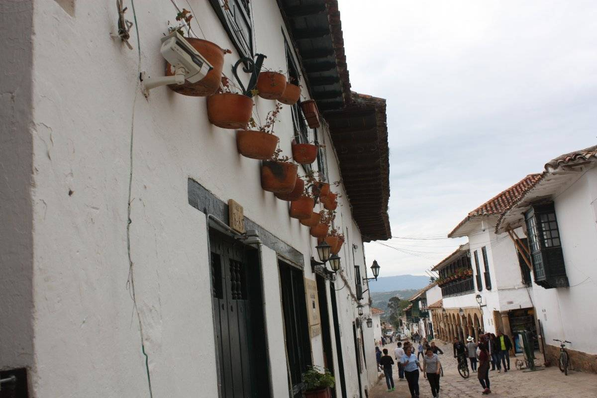 Casas de Villa de Leyva, sector turístico de las afueras de Bogotá