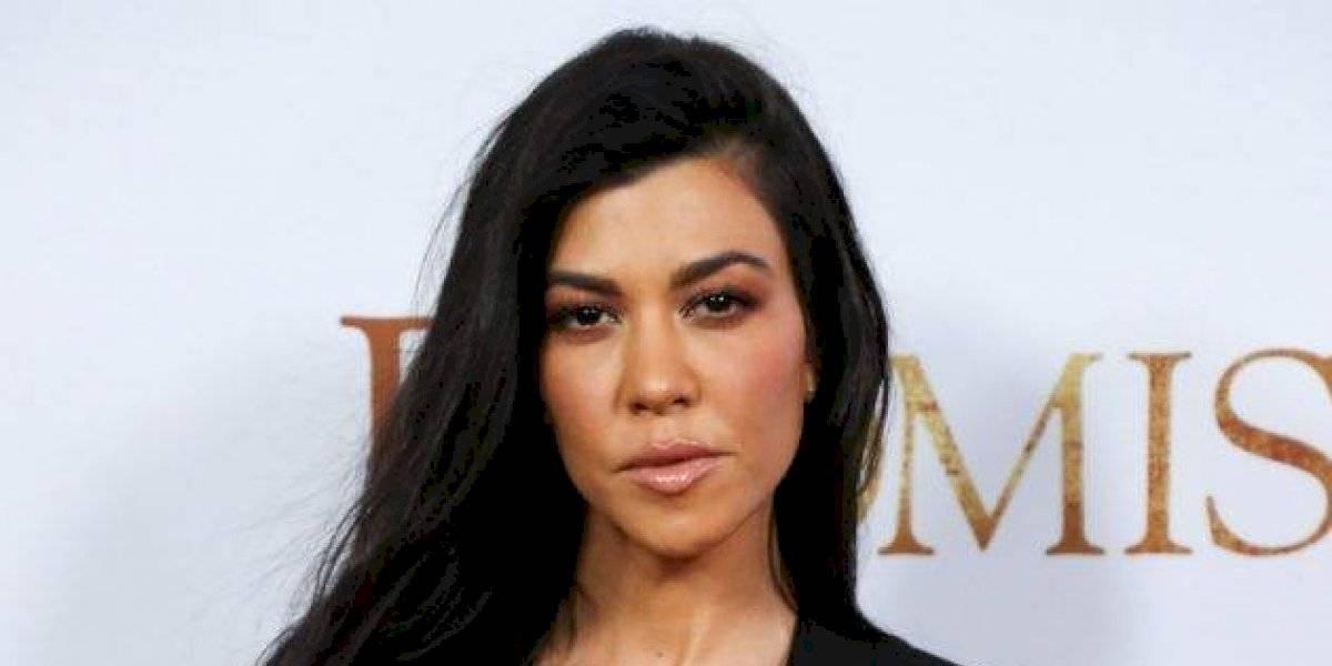FOTO. Kourtney Kardashian deja ver su cuerpo desnudo en todo su esplendor