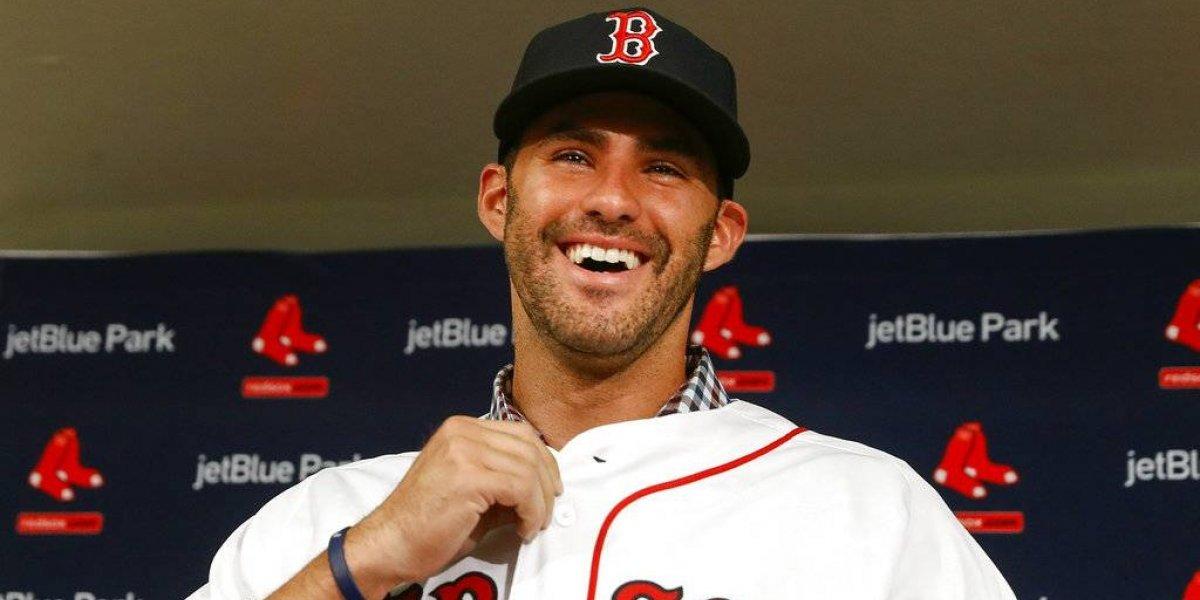 J.D. Martínez es finalmente integrante de los Medias Rojas de Boston