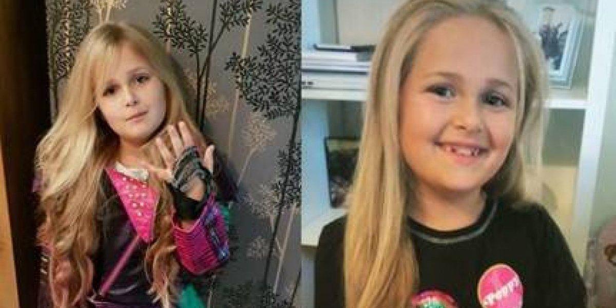 Tremendo ejemplo: pequeña de 8 años cortará su larga cabellera para hacer una peluca y donarla a niños enfermos de cáncer