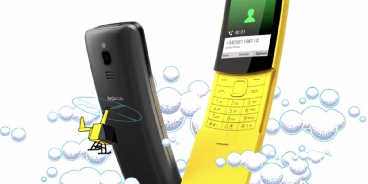 """MWC: Nokia relanza el legendario teléfono de """"Matrix"""""""