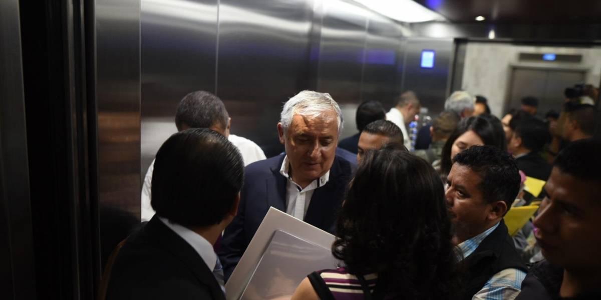 """Expresidente Otto Pérez habla de su """"muy rara""""  enfermedad"""