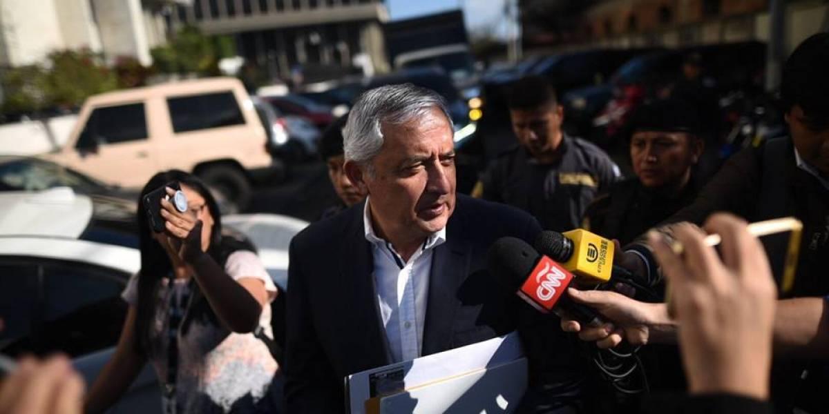 "Relación con Colom en Mariscal Zavala ha sido ""cordial"", dice Pérez Molina"
