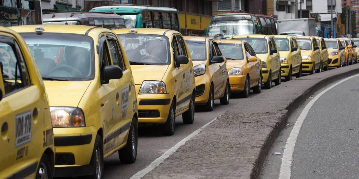 Por más de una hora, taxista persiguió al esposo de su pasajera en Chapinero