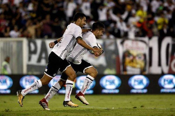 Colo Colo espera celebrar en su debut en la Libertadores / imagen: Photosport