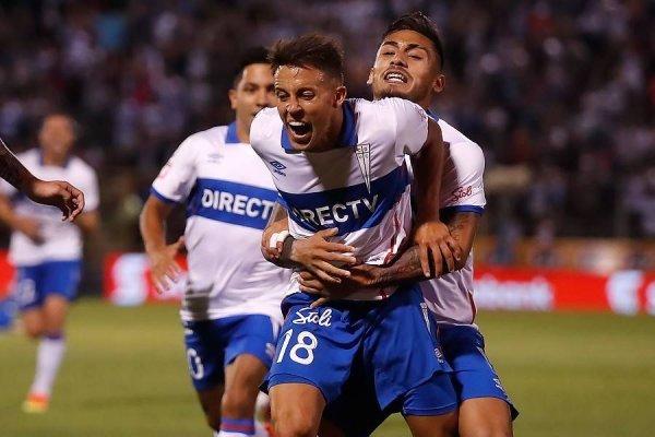 La UC celebra en el Campeonato Nacional 2018 / imagen: Photosport