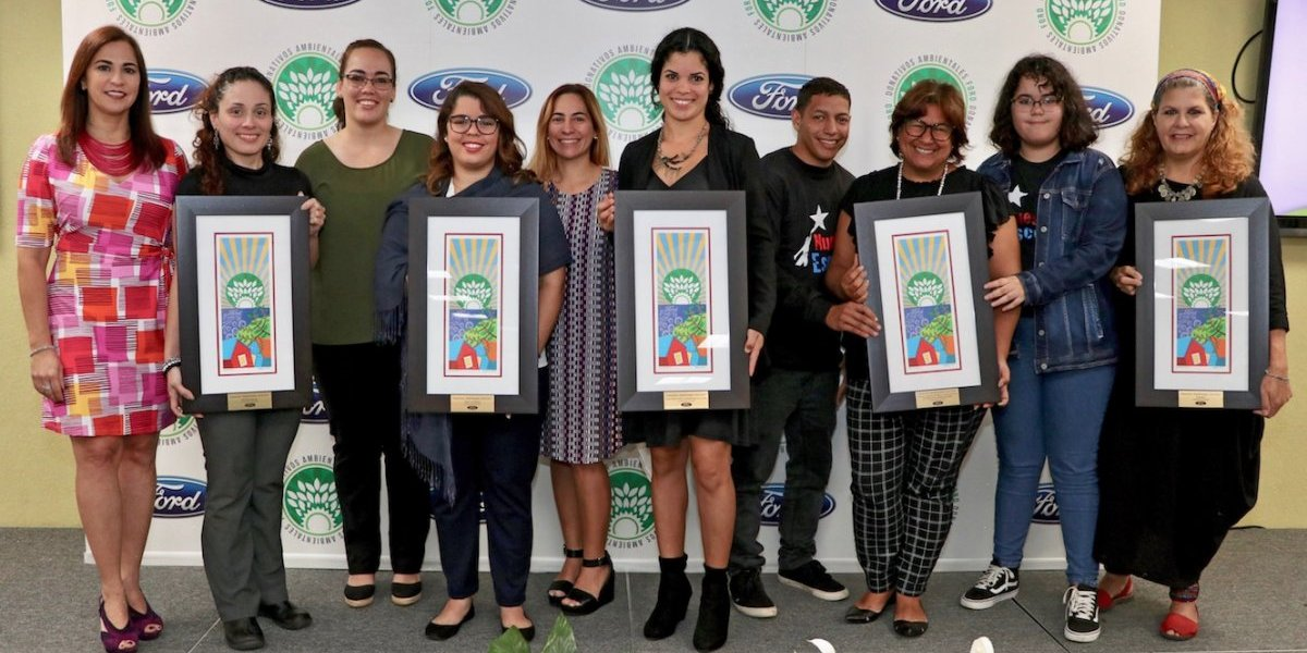Ford premia a 6 proyectos comunitarios con donativos ambientales