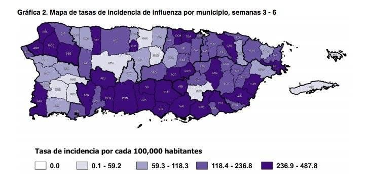 Gráfica y datos: Departamento de Salud de Puerto Rico