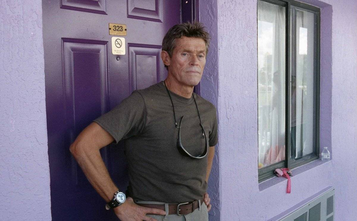 "Willem Dafoe en ""The Florida Project"""