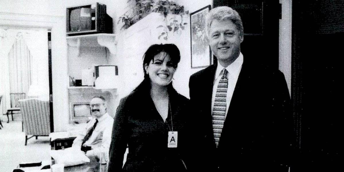"""Bill Clinton justificó el sexo con Monica Lewinsky señalando que son """"cosas que hice para intentar calmar mi ansiedad"""""""