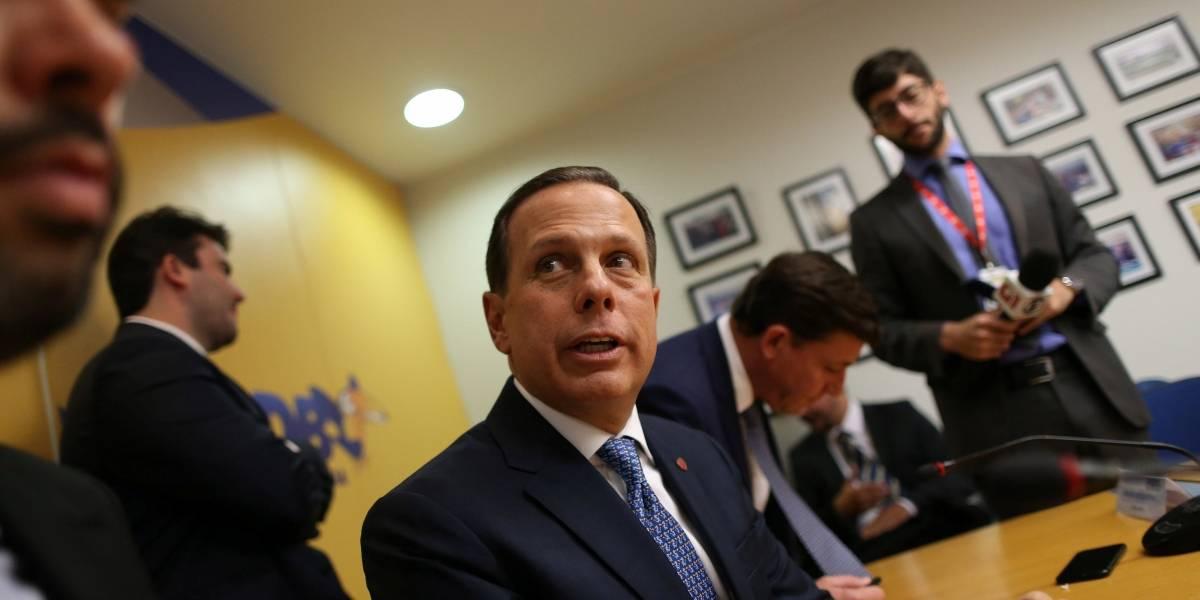 Doria admite que 'avalia' ser candidato ao governo de São Paulo