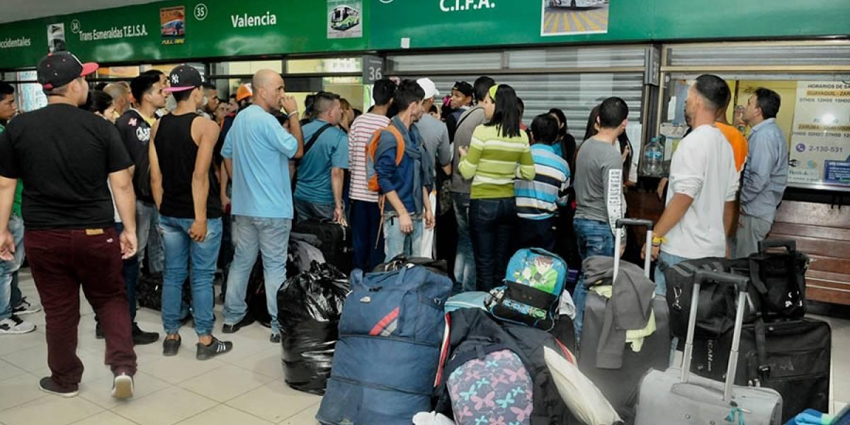 50% de cooperativas de transporte están paralizadas en Guayaquil