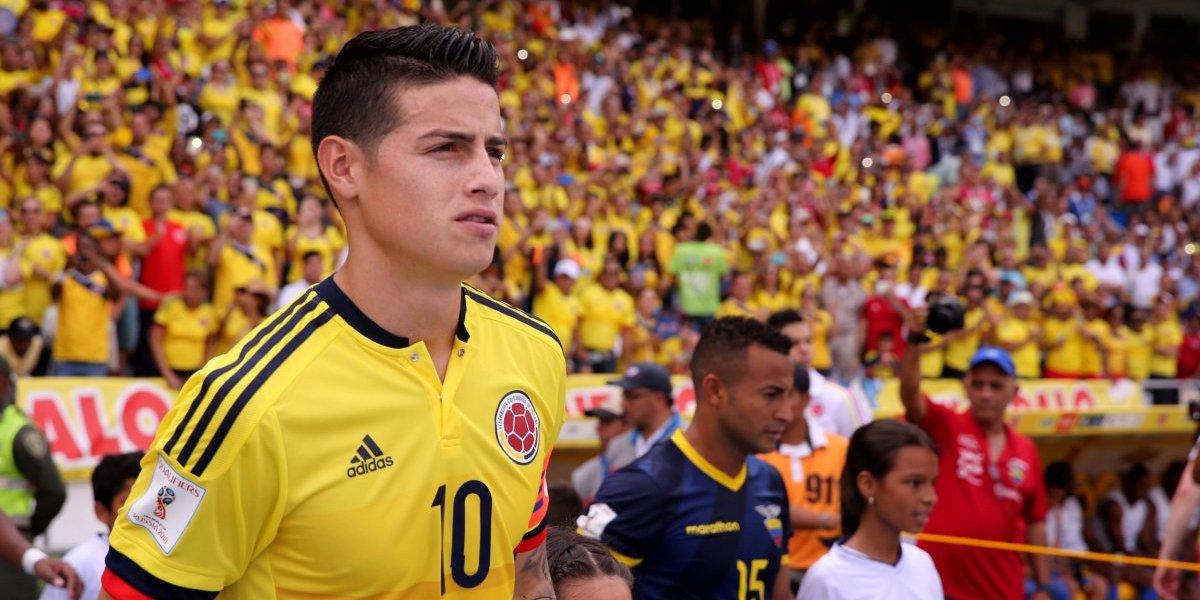 'La mamá del 10' generó controversia por recreación de un gol de James