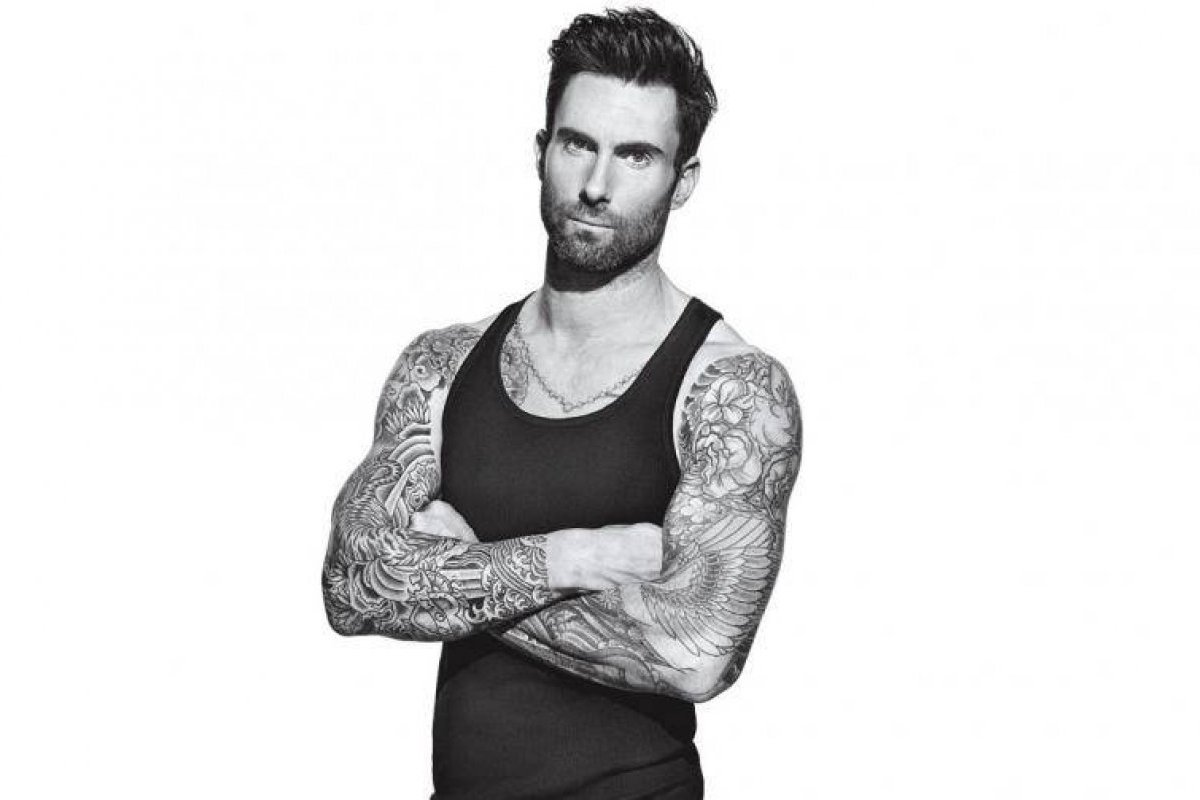 Adam Levine Black And White Photoshoot 2019