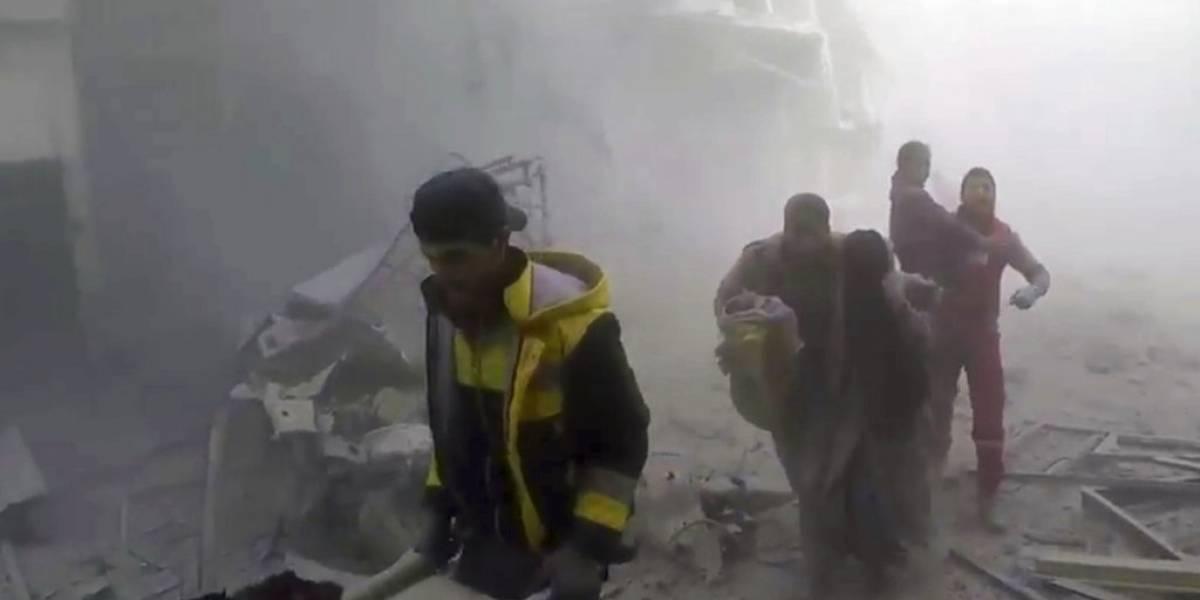 """""""Pausa humanitaria"""" a los ataques al este de Damasco"""
