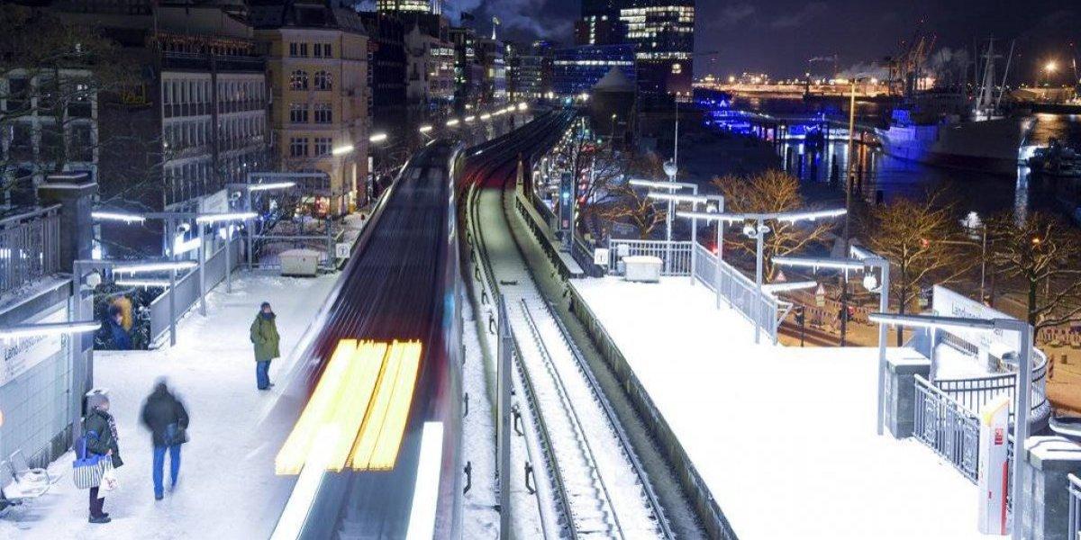 Alemania bajo una ola de frío