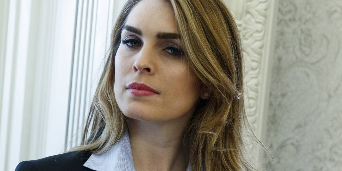 "Hope Hicks, estrecha colaboradora de Trump, comparece por ""Rusiagate"""