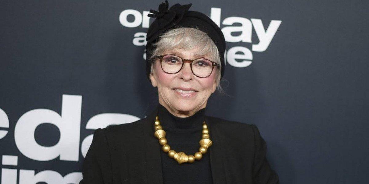 Rita Moreno viste el mismo traje de cuando ganó el Oscar por West Side Story