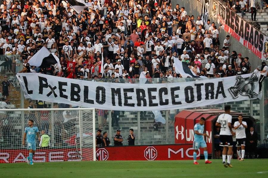 La hinchada le pide otra Libertadores a Colo Colo / Foto: Agencia UNO