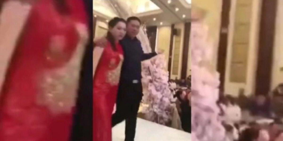 Sogro beija nora à força no próprio casamento e famílias se enfrentam; veja vídeo