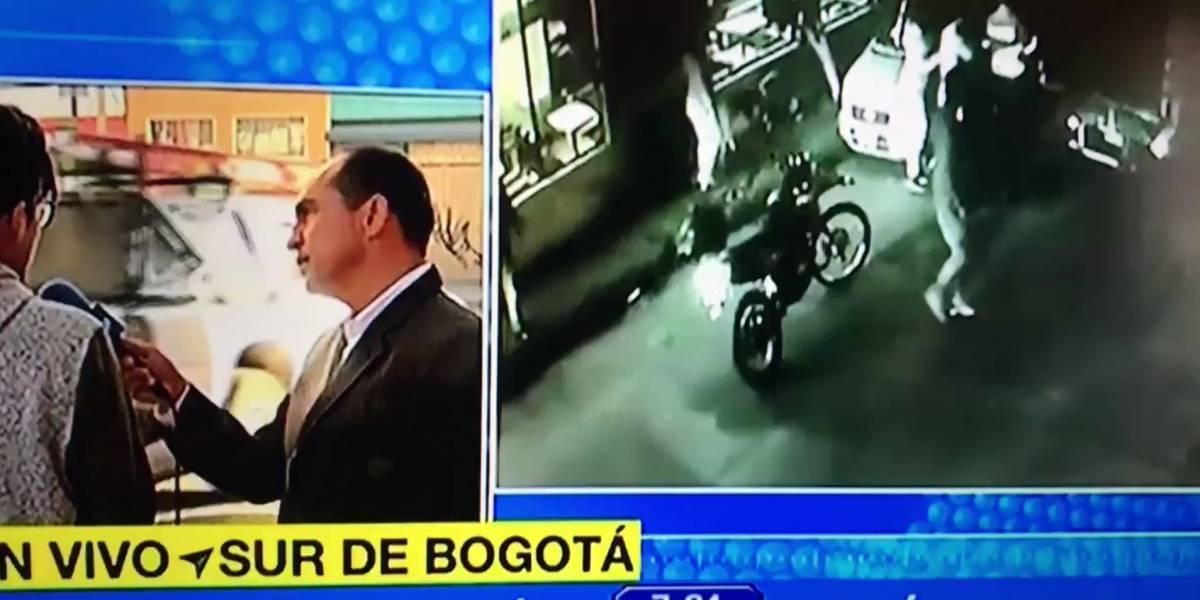 ¡Qué pena! Vea el descache de periodista de Noticias Caracol