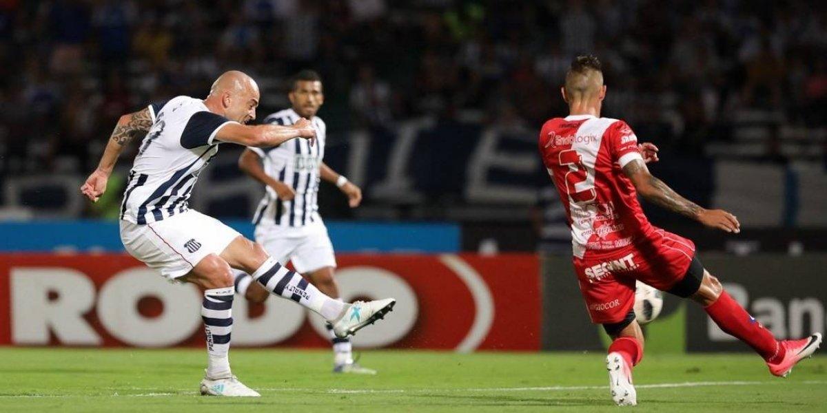El Tanque Silva vuelve a marcar por Talleres y se convierte en hombre récord en Argentina