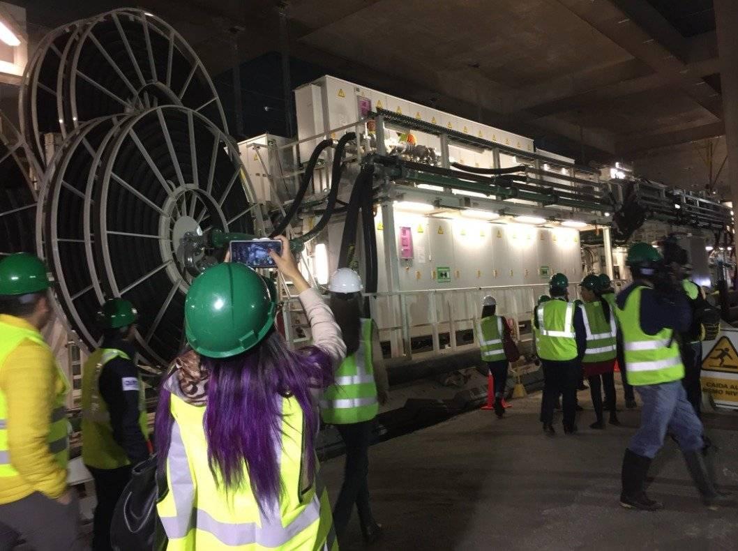 Tuneladora Luz de América del Metro de Quito se paralizó por retraso en los pagos