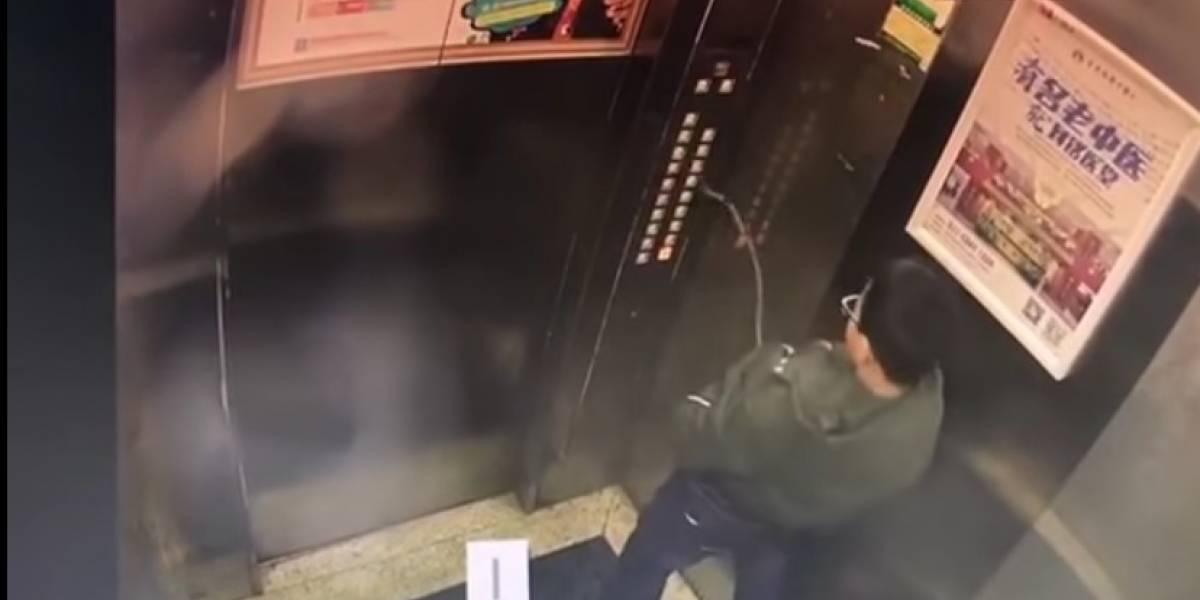 Menino quebra elevador e fica preso após fazer xixi nos botões